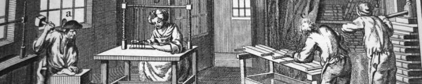 Como os livros eram encadernados antes da RevoluçãoIndustrial?