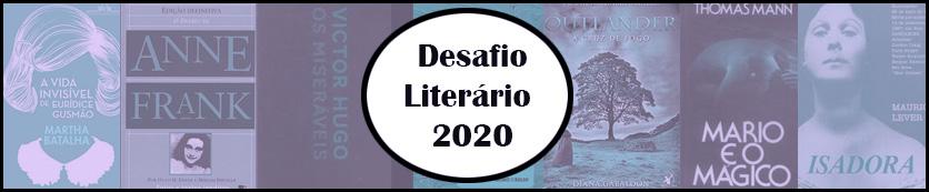 DESAFIO LITERÁRIO 2020!